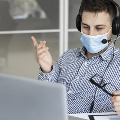 new-normal-at-the-office-with-face-mask